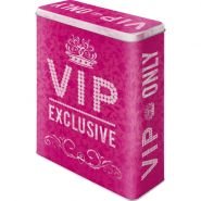 Cutie metalica XL VIP Pink Only