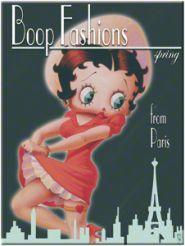 Magnet Betty Boop - Paris