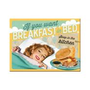 Magnet Breakfast in Bed