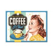 Magnet Coffee O' Clock
