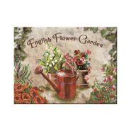 Magnet English Flower Garden - Red