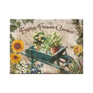 Magnet English Flower Garden - Yellow