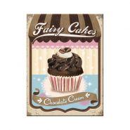 Magnet Fairy Cakes - Chocolate Cream