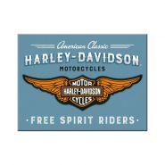 Magnet Harley-Davidson - Logo Blue