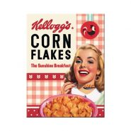 Magnet Kellogg's Girl Corn Flakes Collage