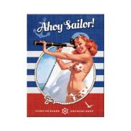 Magnet Pin Up - Ahoy Sailor