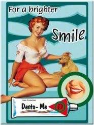 Magnet Pin Up - For a brighter smile