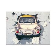 Magnet Trabant - Berlin Wall