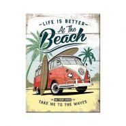 Magnet Volkswagen Bulli - Beach