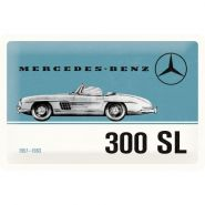 Placa 20x30 Mercedes-Benz 300 SL