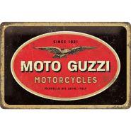 Placa 20x30 Moto Guzzi - Logo Motorcycles
