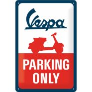 Placa 20x30 Vespa - Parking Only