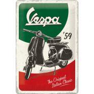 Placa 20x30 Vespa - The Italian Classic