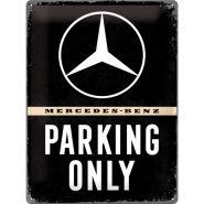 Placa 30x40 Mercedes-Benz - Parking Only