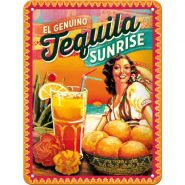 Placa metalica 15X20 Cocktail-Time Tequila Sunrise