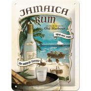 Placa metalica 15X20 Jamaica Rum