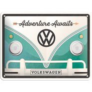 Placa metalica 15x20 VW - Volkswagen Adventure