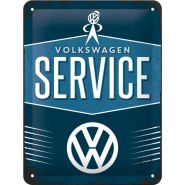 Placa metalica 15x20 VW-Service