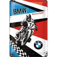 Placa metalica 20X30 BMW - Motorrader