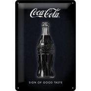 Placa metalica 20X30 Coca-Cola - Sign of good taste