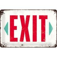 Placa metalica 20X30 Exit - Iesire