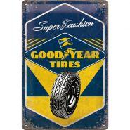 Placa metalica 20x30 Goodyear Tires