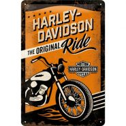 Placa metalica 20X30 Harley-Davidson The Original Ride