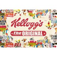 Placa metalica 20x30 Kellogg's the original