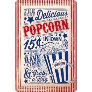 Placa metalica 20X30 Popcorn