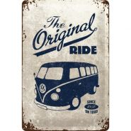 Placa metalica 20X30 VW - Original Ride