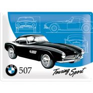 Placa metalica 30X40 BMW - 507 Touring Sport