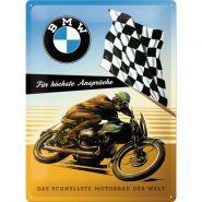 Placa metalica 30X40 BMW - Fur hochste Anspruche