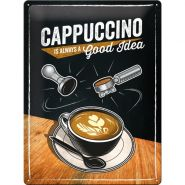 Placa metalica 30X40 Cappuccino Good Idea