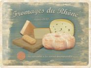 Placa metalica 30X40 Fromages du Rhone