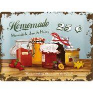 Placa metalica 30x40 Homemade Marmelade
