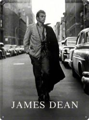 Placa metalica 30X40 James Dean