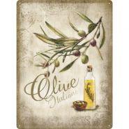 Placa metalica 30x40 Olive italiene