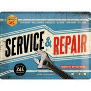 Placa metalica 30X40 Service and Repair'