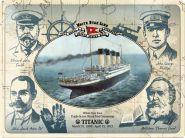 Placa metalica 30x40 Titanic