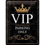 Placa metalica 30X40 VIP