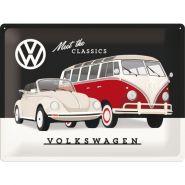 Placa metalica 30x40 Volkswagen CLassics