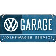 Placa metalica cu snur 10x20 Volkswagen Garage