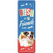 Semn de carte Best friends cat & dog