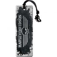 Semn De Carte Harley-Davidson Skull Logo