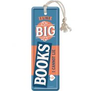 Semn de carte metalic Big Books