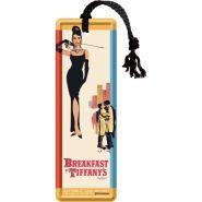 Semn de carte metalic Breakfast at Tiffany's - Classic