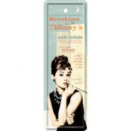 Semn de carte metalic Breakfast at Tiffany's