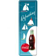 Semn de carte metalic Coca-Cola Sailing Boats