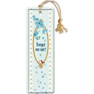 Semn de carte metalic Forget Me Not