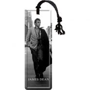 Semn de carte metalic James Dean